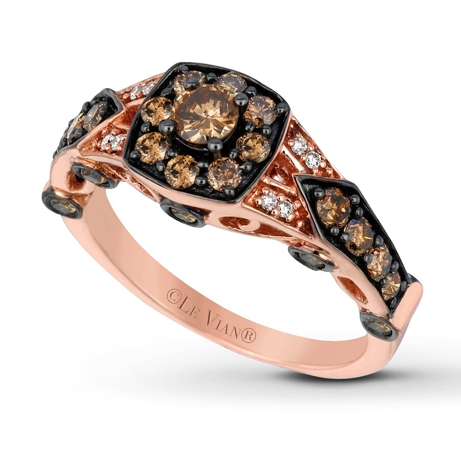 Kayoutlet Levian Chocolate Diamonds 1 Ct Tw Ring 14k