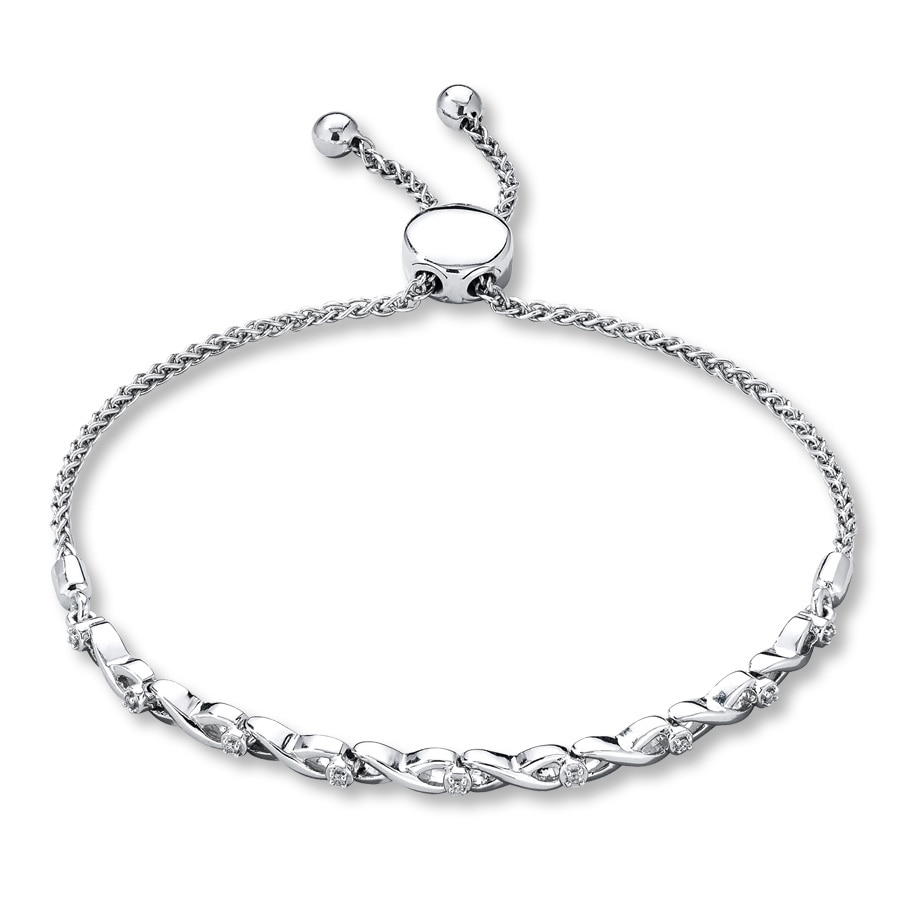 ie products bracelet bolo bar pearl tipperary silver crystal