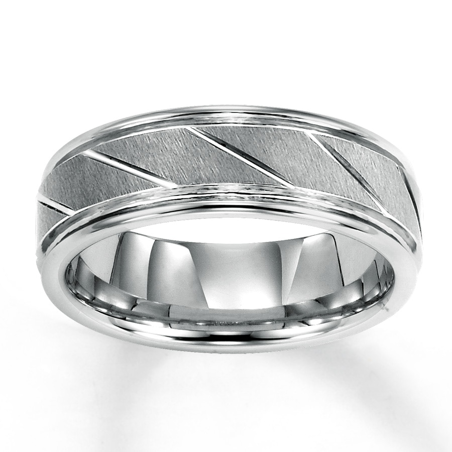 It is a graphic of Mens Wedding Rings: Mens Wedding Bands Kays