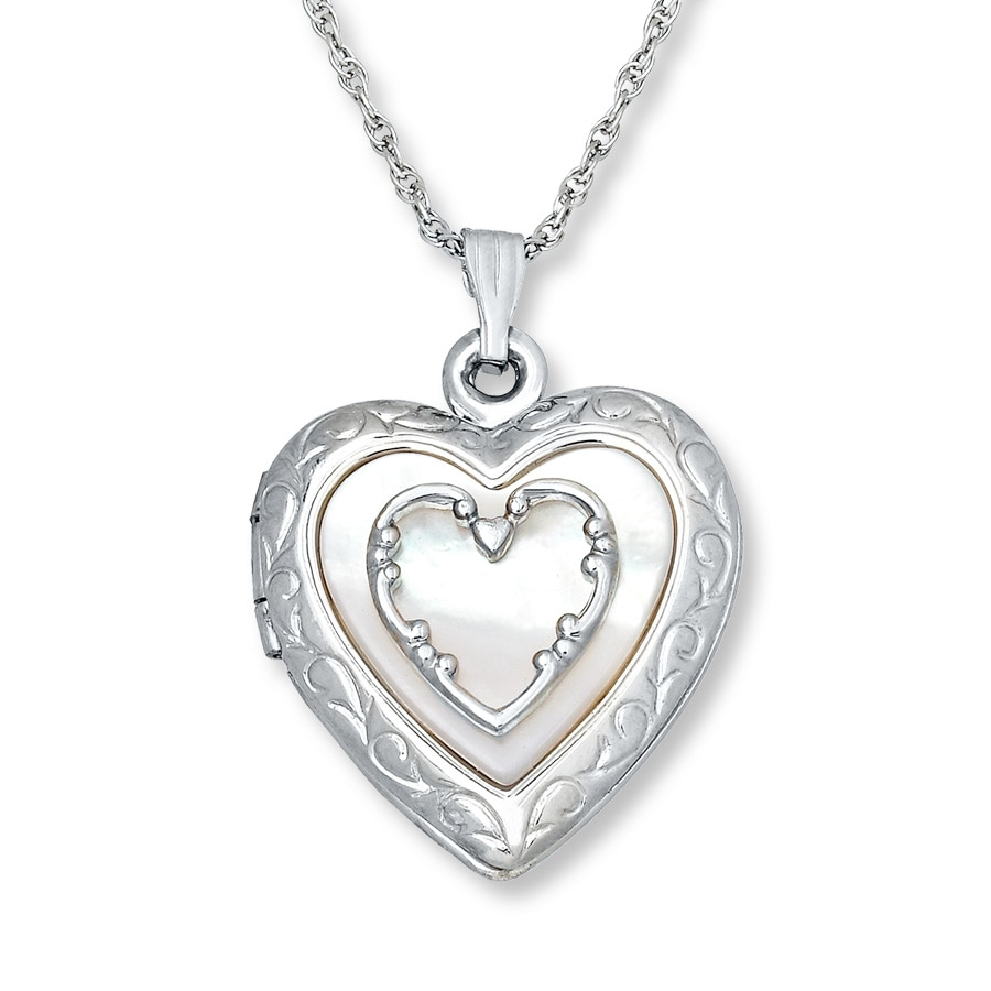 ernest l webstore silver product jones rose open style lockets locket jewellery diamond heart number category gold