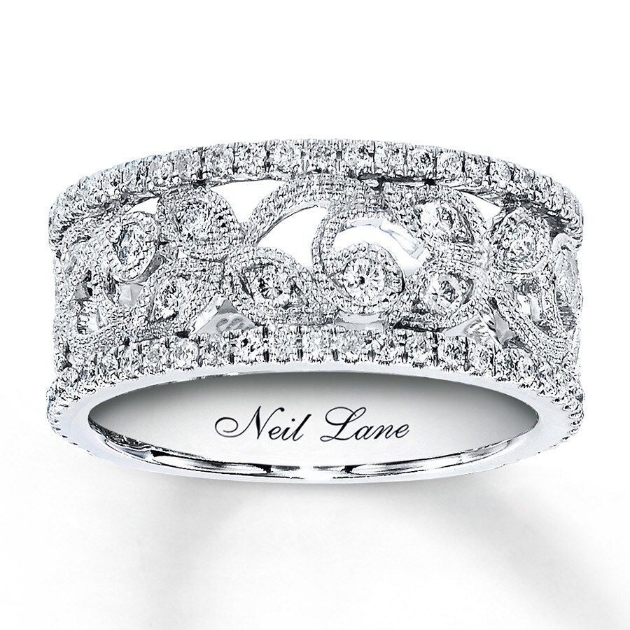 lane mv jar zm carat bridal band diamond white gold t w anniversary wedding neil bands