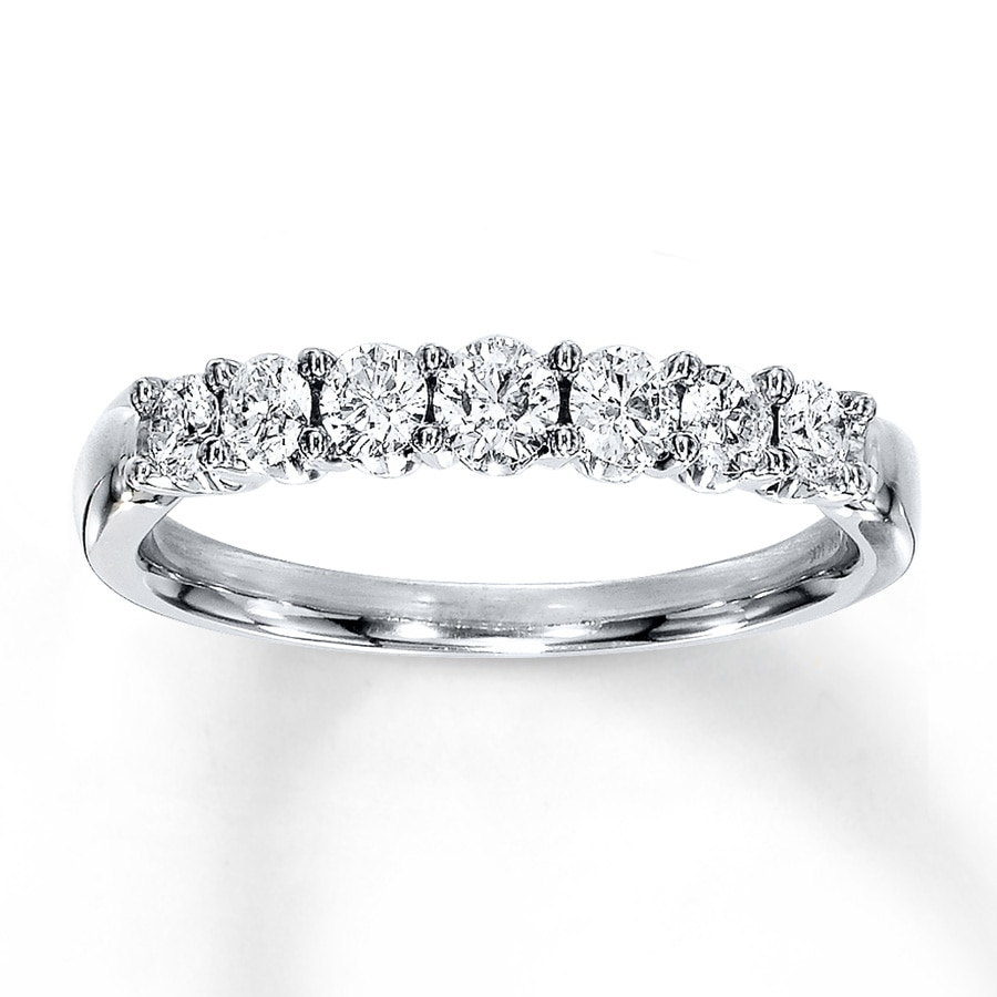 anniversary diamond platinum carat youtube eternity band bands in ring chloe watch