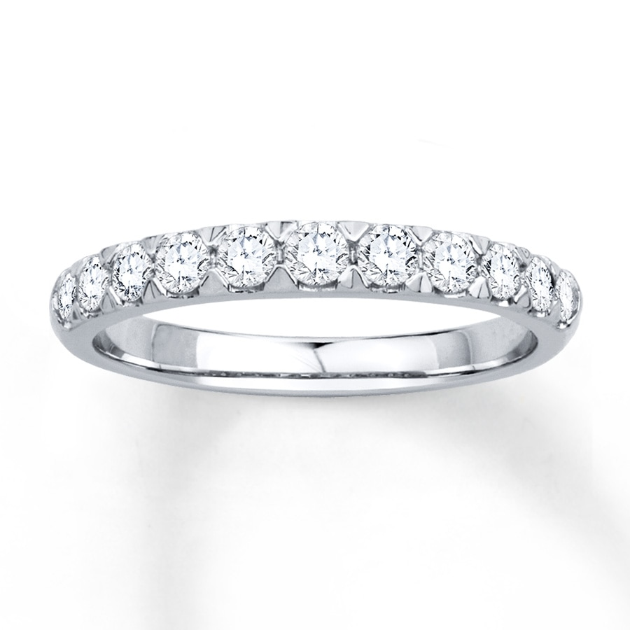 band ebay itm ct cut carat round anniversary palladium diamond bands in ring
