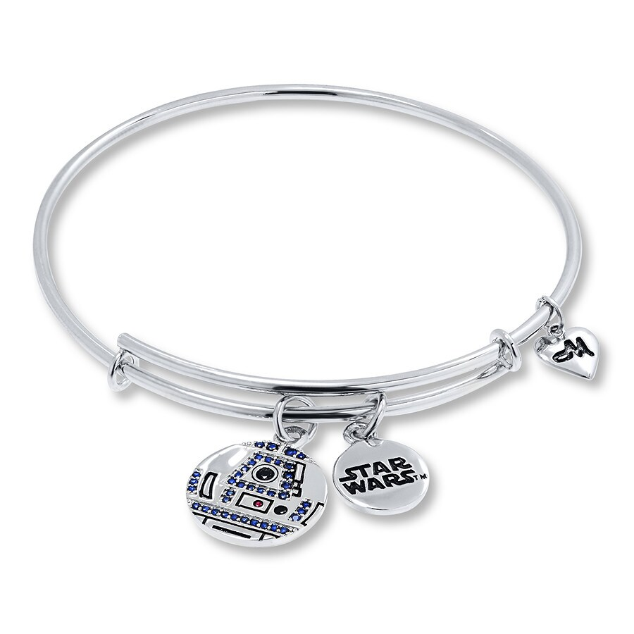 9577e8997 Charmed Memories Bangle Star Wars R2-D2 Sterling Silver - 813605401 ...