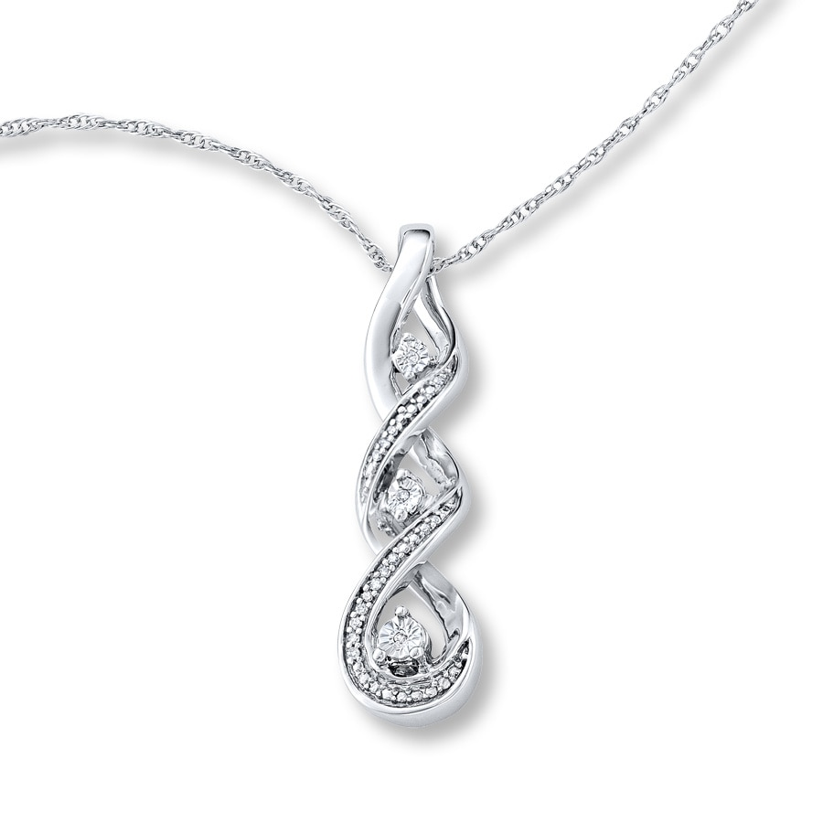 Pearl Drop Necklace Kay Jewelers Image Of Necklace
