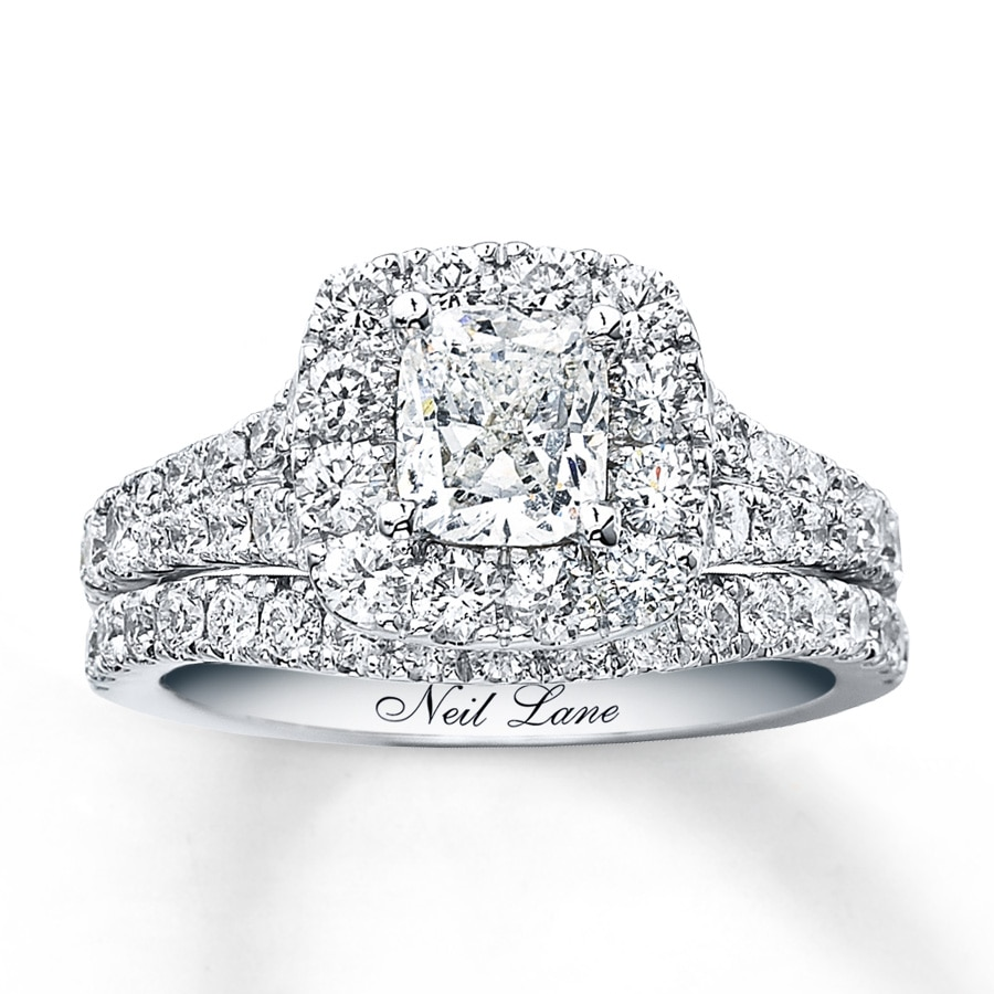 gallery center diamond neil image halo ctw i size vintage ring shop engagement rbc buy cushion lane approx