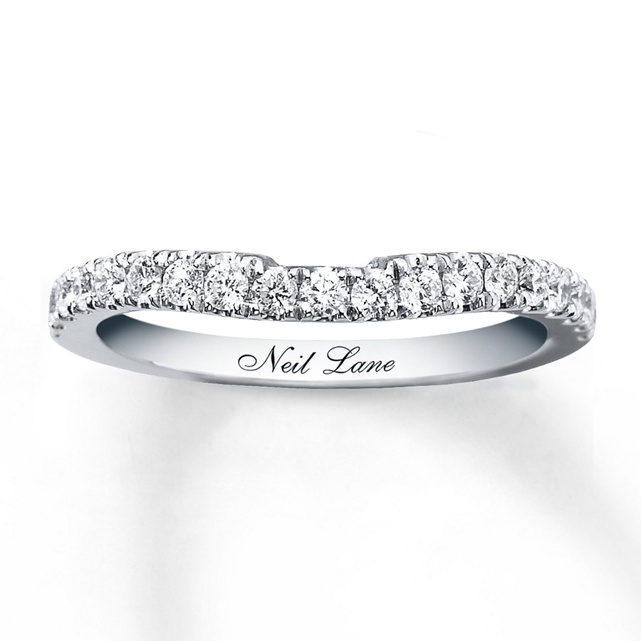 Neil lane wedding band 38 ct tw diamonds 14k white gold hover to zoom junglespirit Choice Image