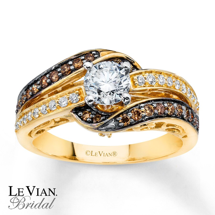 v trisides diamonds tw wedding le zales t strawberry ae gold chocolate sides ring ct frame rose vian p in diamond rings w tri
