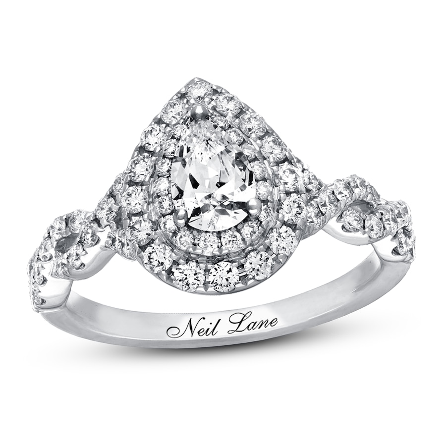 3815c3c993d78 Neil Lane Engagement Ring 1-1/8 ct tw Diamonds 14K White Gold
