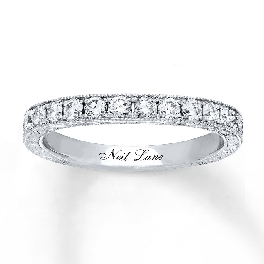Neil lane wedding band 58 ct tw diamonds 14k white gold 940311121 click to expand junglespirit Choice Image