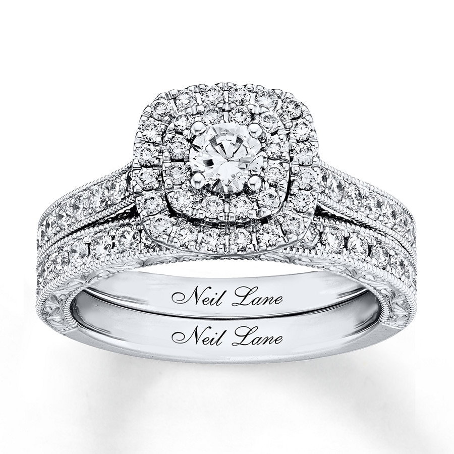 211468a5a Neil Lane Bridal Set 1 ct tw Diamonds 14K White Gold - 940334600 ...