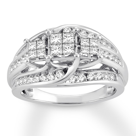 Diamond Engagement Ring 1 Carat tw 10K White Gold